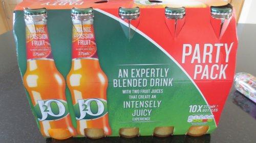Tesco Party Pack 10 x 275ml bottles J20 - £4 instore