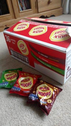 36 pack of Hola Hoops £3.50 at Asda instore