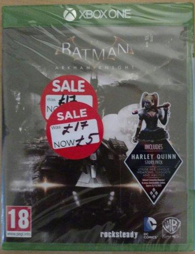 Batman Arkham Knight £5 (Xbox one) Asda instore