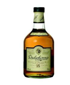 Dalwhinnie 15 Years Old Single Malt Scotch Whisky, 70cl amazon prime buy two bottles of selected aged malt whiskies and receive 10 pounds discount