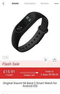 Original Xiaomi Mi Band 2 Smart Watch for Android iOS-$19.99 and Online Shopping | GearBest.com Mobile