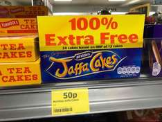 24 Jaffa Cakes (Double Pack) 50P at one stop