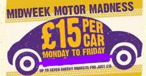 Knowsley Safari Park £15 per car for up to 7 Mon - Fri Autumn