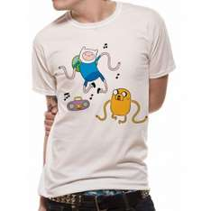 Adventure Time T-Shirts £5.99 Delivered @ 365Games