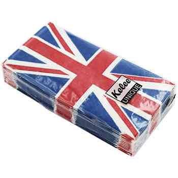 Union Jack Pocket Tissues Pack 15p delivered @ The Works