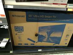 Polaroid Ultra Hd smart tv 55 inch Asda instore £325