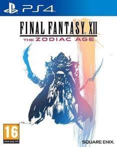 Final Fantasy XII The Zodiac Age (PS4) - £29.44 or £27.44 for prime members - Hurry! @ Amazon