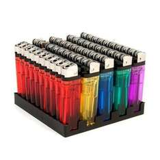 50 DISPOSABLE LIGHTER CHILD SAFE £5.37 Dispatched from and sold by Select Stock @ Amazon marketplace