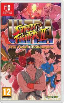 Ultra Street Fighter II: The Final Challengers Nintendo Switch £27.99 for Amazon Prime members