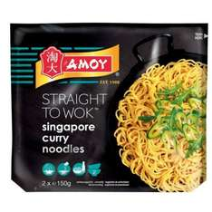 amoy straight to wok Singapore curry noodles - 25p instore @ Poundstretcher