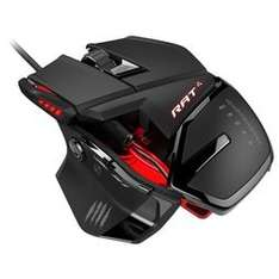 Mad Catz RAT 4 Optical Gaming Mouse 5000dpi - Black, £25 at game