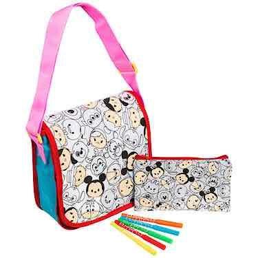Disney Tsum Tsum Colour Your Own Bag Set was £15 now £5 Free C&C @ The Entertainer