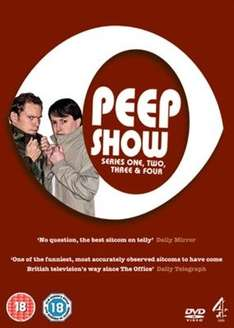 Peep Show Series 1-4 DVD Box Set £1.19 delivered (pre-owned) @ Music Magpie