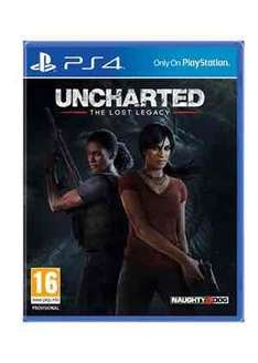Uncharted: The Lost Legacy + Jak and Daxter: The Precursor Legacy (PS4) £24.25 @ Base