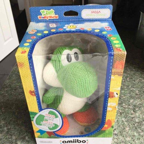 Nintendo Switch/Wii Amiibo Mega Yarn Yoshi just £4.99 @ Game Boston (National deal)