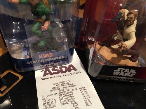 Disney Infinity figures £1 each (selected) instore @ Asda