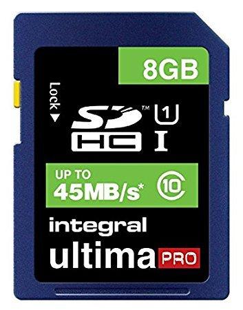 Integral UtlimaPro 8gb SDHC or MicroSDHC UHS-I Class 10 or USB 3.0 8gb Stick £3 instore / C+C @ Wilko
