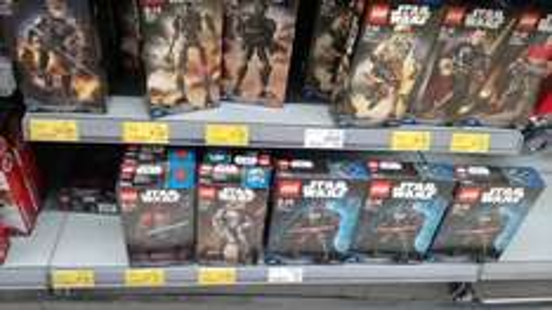 Lego Star Wars Buildable figures £8.30 (75120, 75121, 75123, 75124, 75118) INSTORE ONLY Asda Govan (Glasgow)