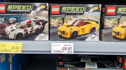 Lego 75870 Chevrolet Corvette Z06 £29.97 (instore asda govan)