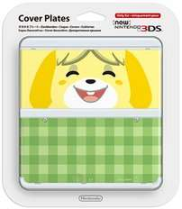 New Nintendo 3DS Cover Plate - Isabelle - Animal Crossing 99P Delivered @ Game