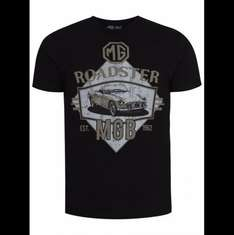 ASDA GEORGE - MG MGB Roadster T-Shirt £4