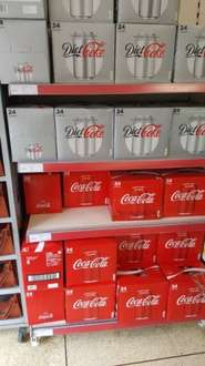 24 cans of Coca Cola @ Iceland for £6.50