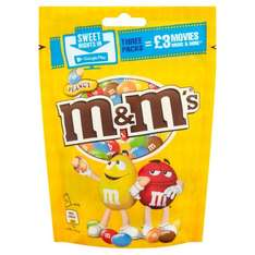 3 packets of m&ms and £3 google play credit for £3.00 @ Tesco