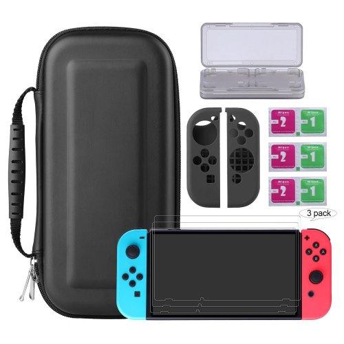 Nintendo Switch Protector Kits for £16.99 (Prime) / £18.98 (Non-Prime) at Amazon