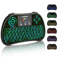 Mini Wireless Keyboard Backlit 2.4Ghz with Touchpad Mouse Combo £12.99 (Prime) / £16.98 (non Prime Sold by ceyo and Fulfilled by Amazon
