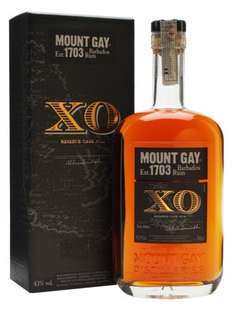 Mount Gay XO Extra Old Rerserve Cask Rum, 70 cl £26.00 delivered Amazon