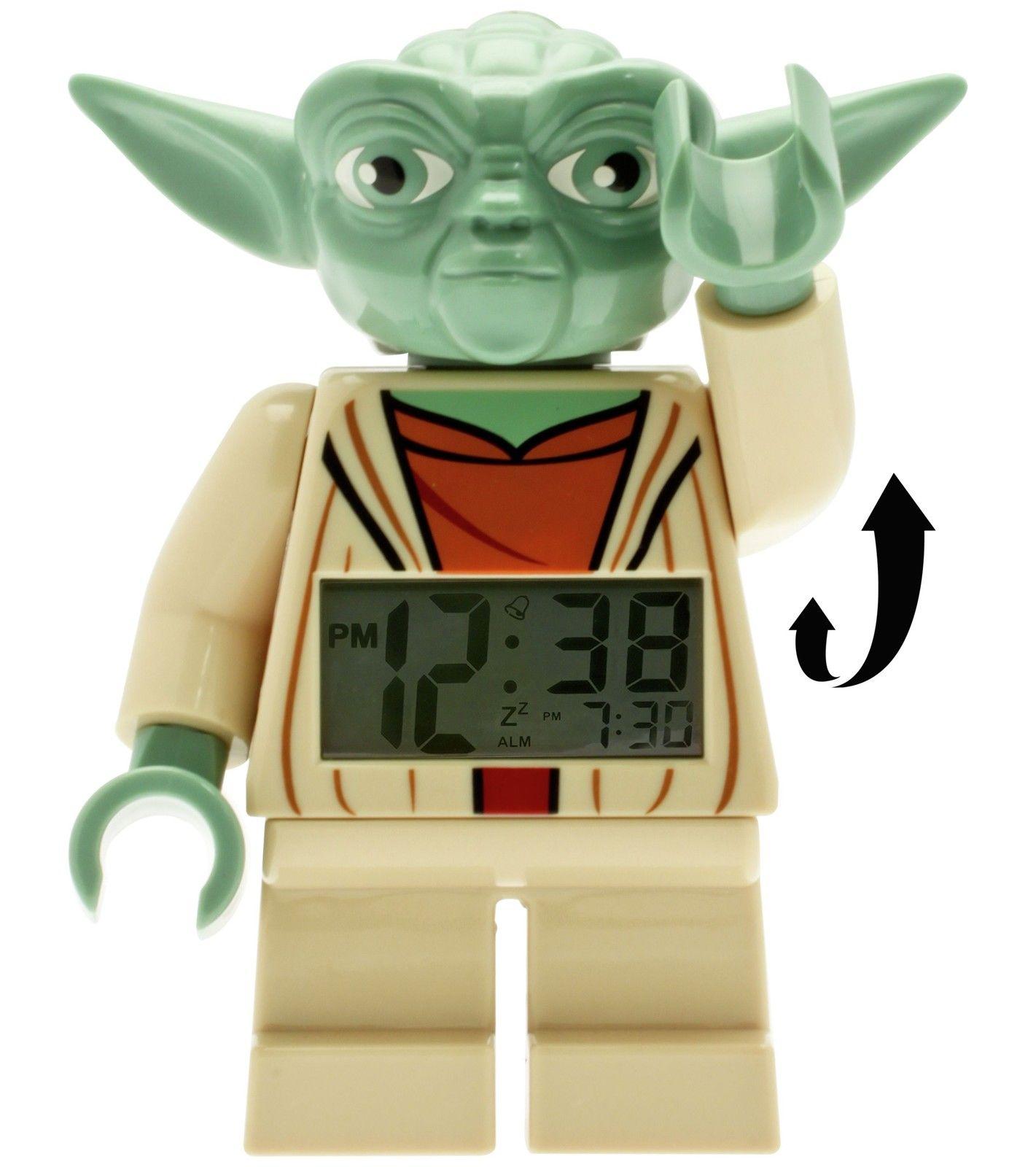 Alarm clock wake you up it will! Lego Yoda alarm clock £9.99 - Argos on eBay