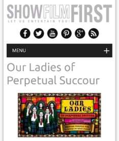 Our Ladies Of Perpetual Succour @ ShowFilmFirst 08/06/17 -10/06/17 (£2 admin charge)