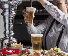 Learn how to pour a Mahou beer then drink it free at Iberica restaurant , Manchester 7th June 6pm, Leeds 15 June 6pm