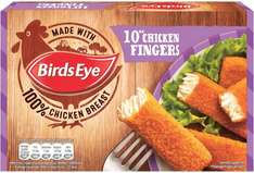 Birds Eye Chicken Fingers (10 = 250g) was £1.50 now only £1.00 @ Sainsbury's
