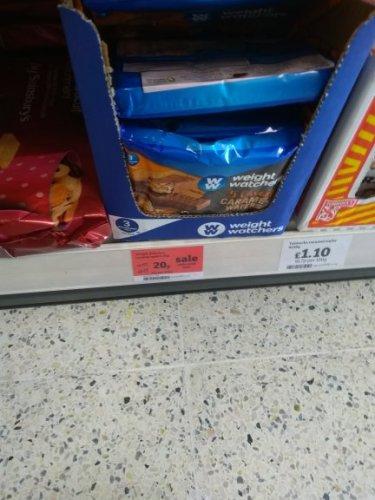 Weight Watchers Caramel Wafer Bars 5 Pack - 20p instore @ Sainsbury's
