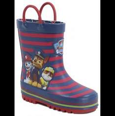 Paw Patrol Wellies £3.00 free C&C at George ASDA