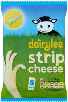Dairylea Strip Cheese (8 x 21g) was £2.60 now 2 packs for the price of 1 @ Ocado
