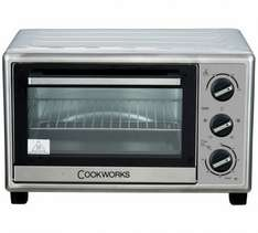 Argos. Cookworks Electric Mini Fan assisted oven £34.99