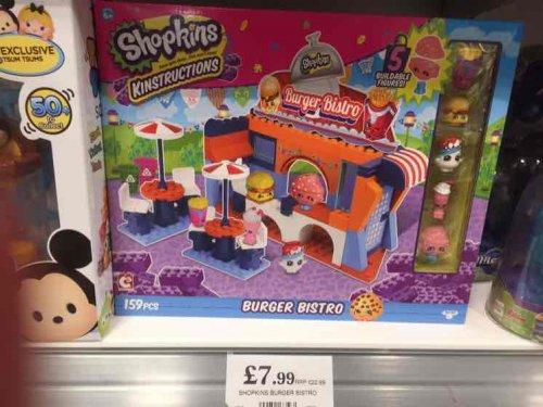Shopkins Burger Bistro Playset - Home Bargains - £7.99