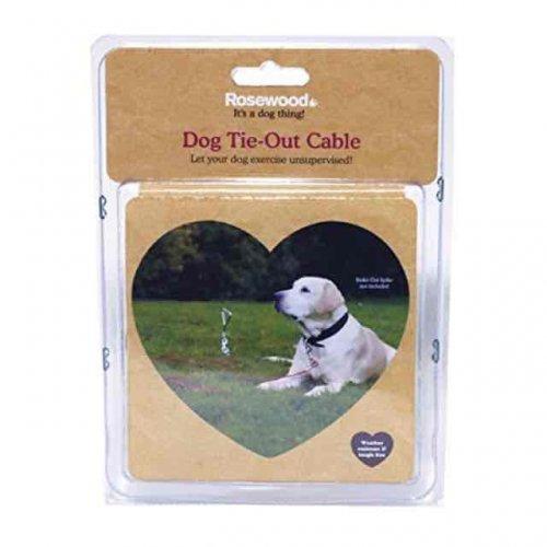 dog tie out cable 30f long amazon - £6.49 (Prime) £11.24 (Non Prime) @ Amazon