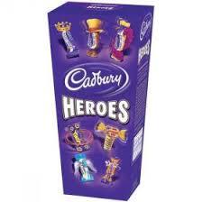 Cadbury's heroes 185g - Two for £2 Heron Foods