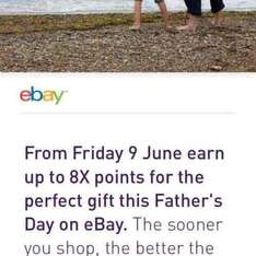 earn up to 8x nectar point on eBay from 9th June