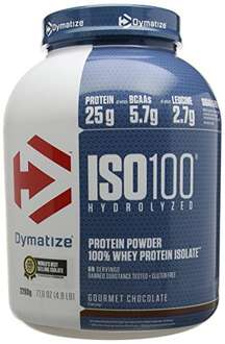 Dymatize 100% Whey Isolate 2.2 kg Gourmet Chocolate ISO 100 Protein £37.93 @ Amazon