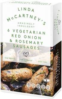 Linda McCartney Red Onion & Rosemary Vegetarian Sausages (6 x 50g) was £1.97 now £1.00 @ Morrisons