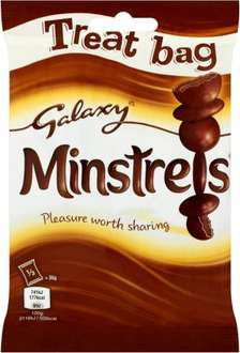 Galaxy Minstrels (105g) was 99p now 89p / Maltessers (88g) was 99p now 89p @ Aldi
