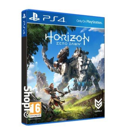 [PS4] Horizon Zero Dawn + Aloy Sackgirl Keyring + Concept Art Cards - £26.86 / Sony PlayStation VR (PSVR) + Camera + FarPoint + Vr World - £339.85 / 12 Months PS+ - £27.85 - Shopto