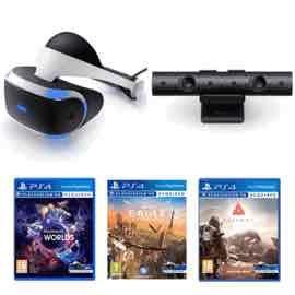 PlayStation VR + Farpoint + VR Worlds + PlayStation Camera V2 + Eagle Flight £349.99 @ Game