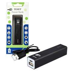 Texet 2600mAh Cuboid Power Bank £3.09 + £5.99 delivery = £9.08 @ 7DayShop. Terrible deal!