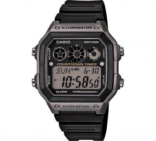 Casio Men's World Time Watch (10 Year Battery) 248/6316 £14.99 @ Argos