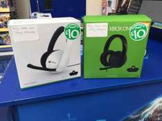 Xbox stereo headset £10 @ smyths instore